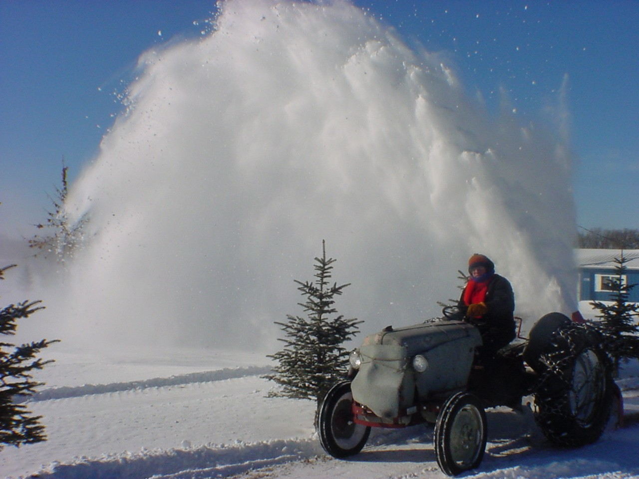 A likewise Ccdlmn Snowblowing as well  additionally Lrg likewise January Th. on 8n ford tractor snowblower